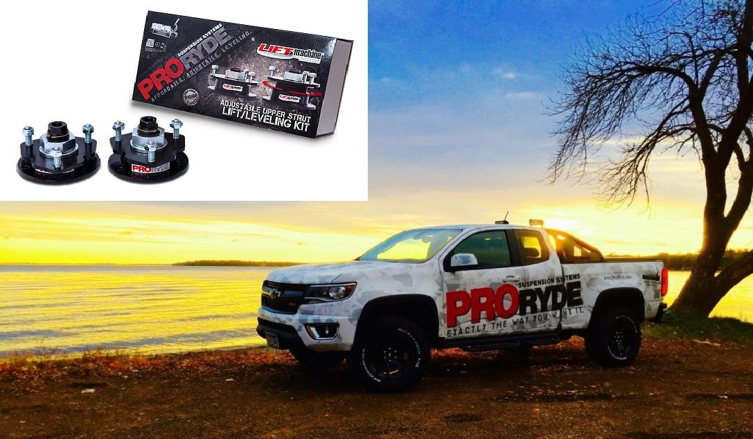 CHEVROLET COLORADO & GMC CANYON ADJUSTABLE FRONT LIFT LEVELING KIT