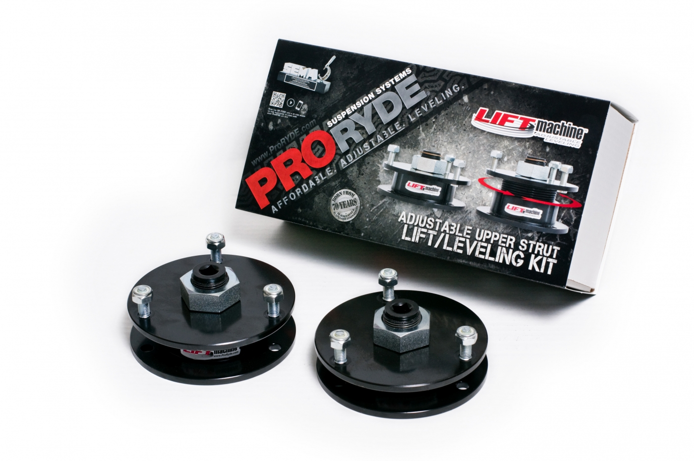 CHEVROLET GMC LD 1500 TRUCK & SUV ADJUSTABLE FRONT LIFT LEVELING KIT  -GMT900-