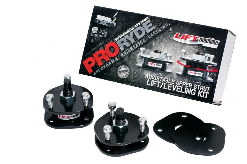 DODGE RAM LD 1500 4WD ADJUSTABLE FRONT LIFT LEVELING KIT