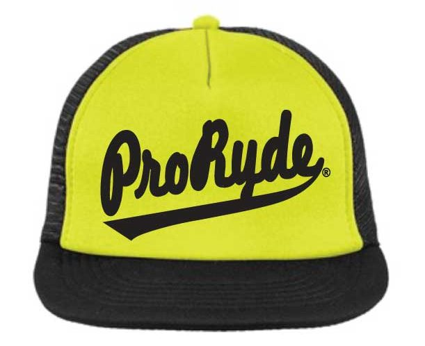 PRORYDE LOGO OLD SCHOOL FLAT BILL CAP