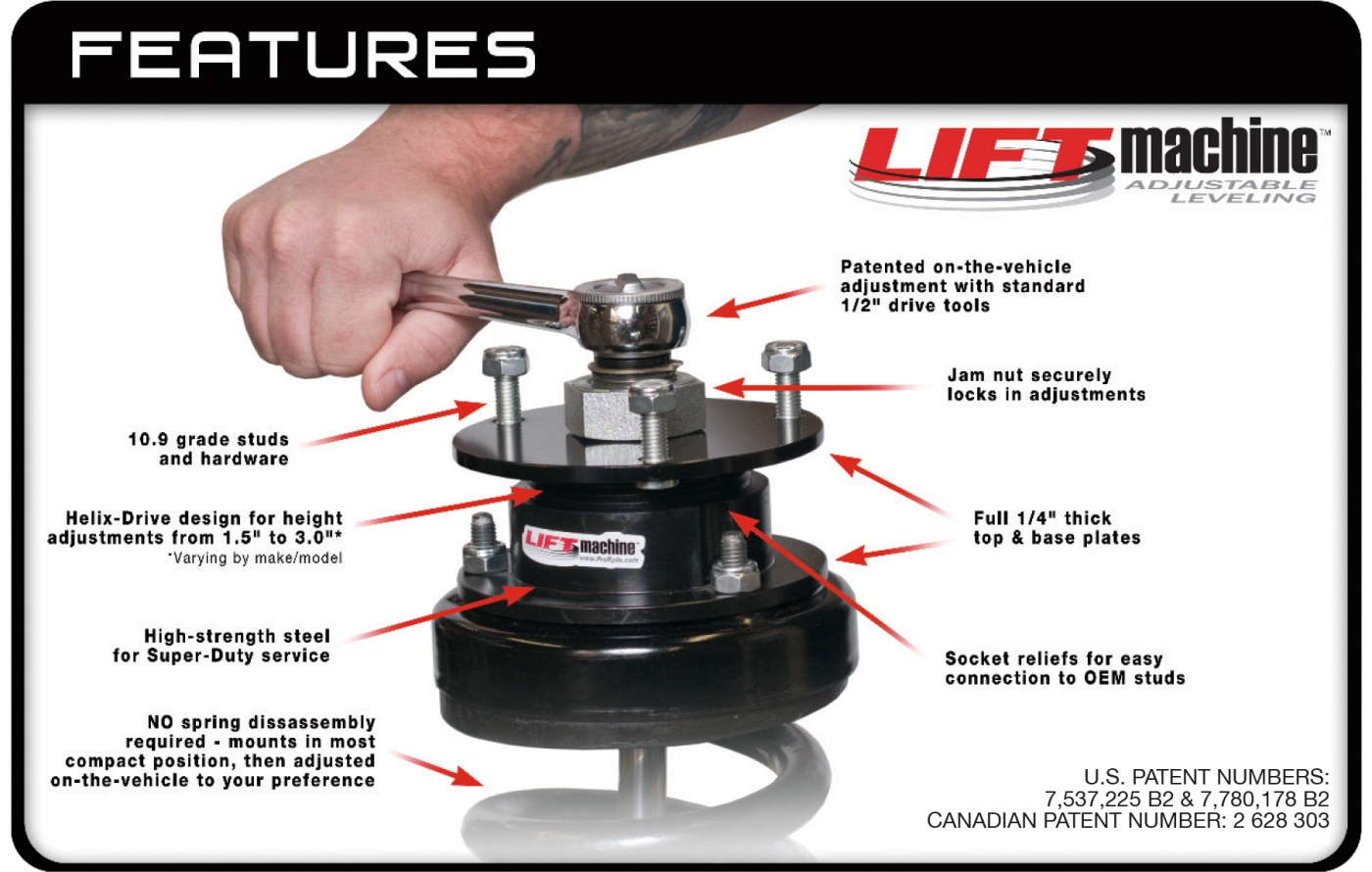 lift machine features